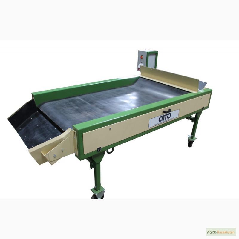 Фото 7. Оборудование машина для сухой очистки чистки картофеля, лука, овощей, моркови УСО-10