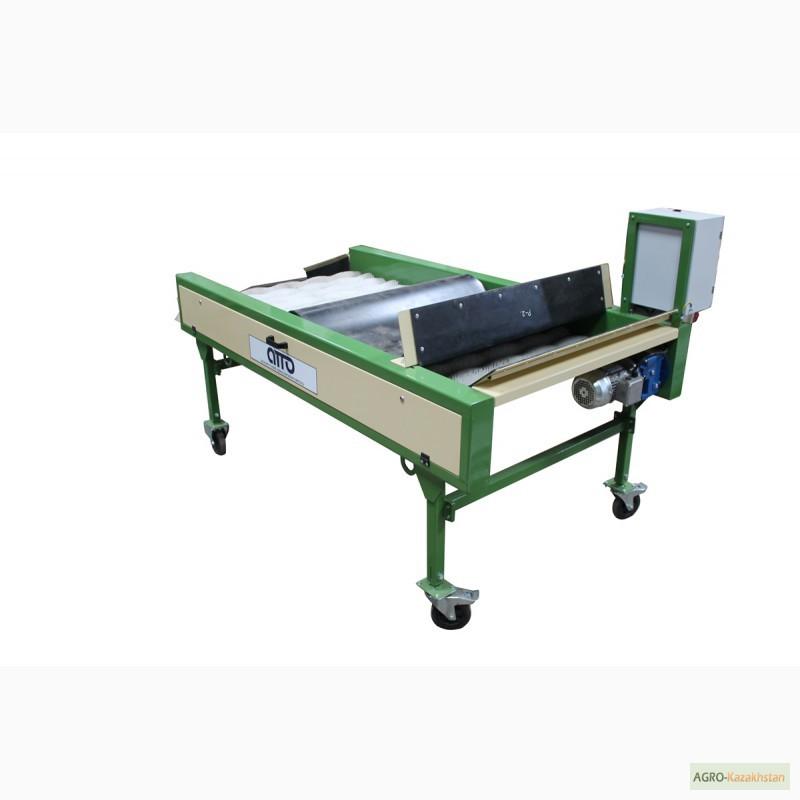 Фото 9. Оборудование машина для сухой очистки чистки картофеля, лука, овощей, моркови УСО-10