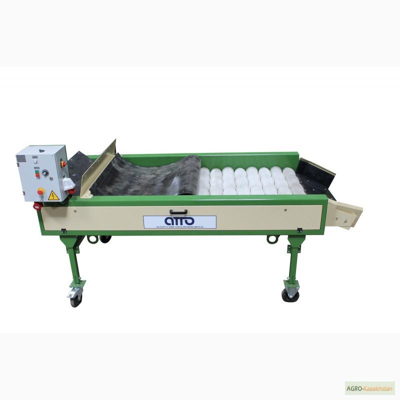 Оборудование машина для сухой очистки чистки картофеля, лука, овощей, моркови УСО-10