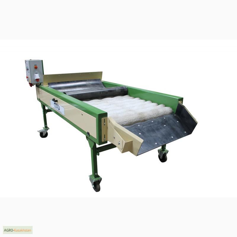 Фото 2. Оборудование машина для сухой очистки чистки картофеля, лука, овощей, моркови УСО-10