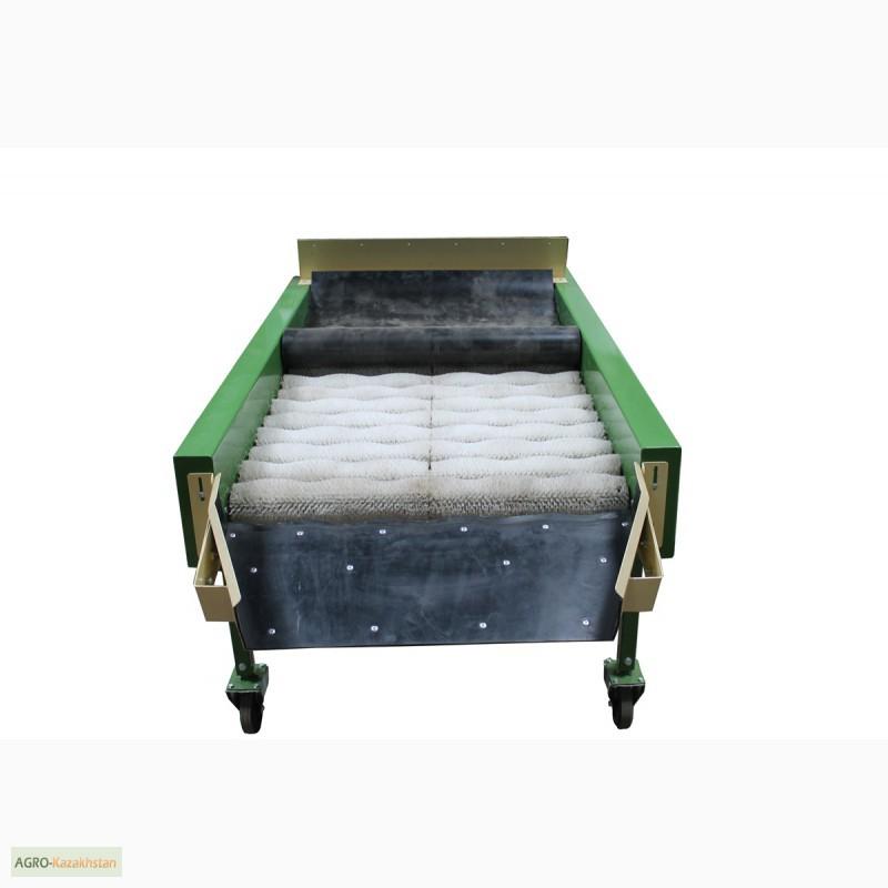 Фото 3. Оборудование машина для сухой очистки чистки картофеля, лука, овощей, моркови УСО-10