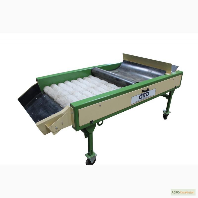 Фото 4. Оборудование машина для сухой очистки чистки картофеля, лука, овощей, моркови УСО-10