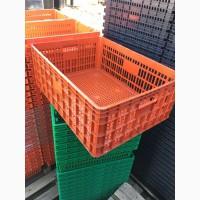 Производим/поставляем ящик пластмассовый для для перевозки живой птицы 770х570х290 мм
