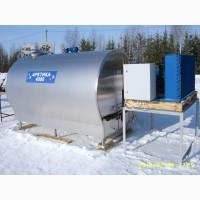 Охладитель молока для МТФ и КФХ и молочных заводов