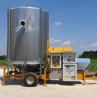 Зерносушилка мобильная Mecmar FSN 12/110 F
