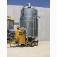 Зерносушилка мобильная Mecmar D20/153T