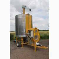 Мобильная зерносушилка Mecmar CPT 7/61 F