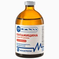 Гентамицин 100 мл Ветеринарный антибиотик