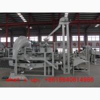 Линия для очистки, калибрования, шелушения и сепарации гороха TFQM-300