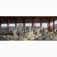 Оборудование шелушения и сепарации семян подсолнечника ТFKH1200