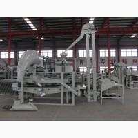 Оборудование для очистки, калибрования, шелушения и сепарации гороха TFQM-300
