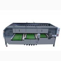 Оборудование для радиальной калибровки овощей и фруктов УКР-1.3Ф. Радиальная калибровочная