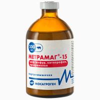 Метрамаг - 15 100 мл Ветеринарный антибиотик