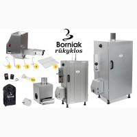 Коптильни Польского производства для горячего и холодного копчения марки Borniak