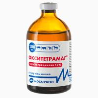 Окситетрамаг 10% 100 мл Ветеринарный антибиотик